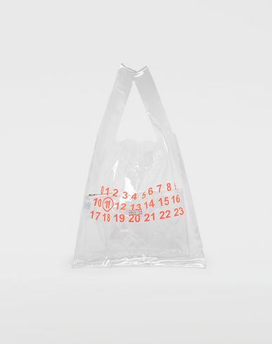 MAISON MARGIELA PVC coated leather shopper tote Tote [*** pickupInStoreShippingNotGuaranteed_info ***] f