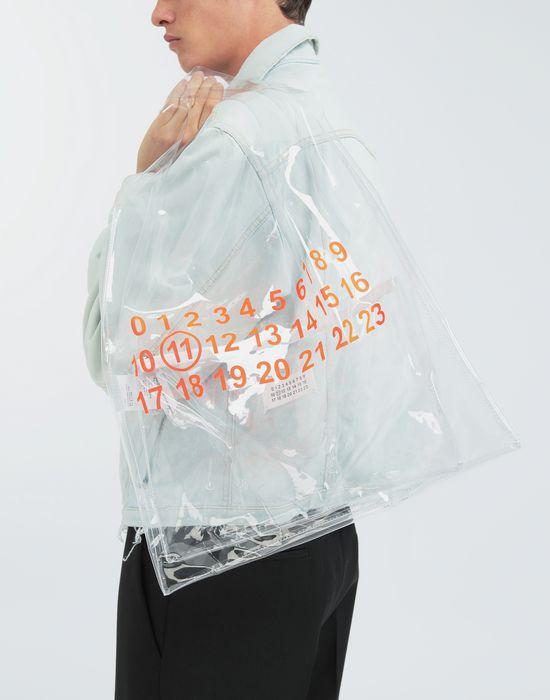 MAISON MARGIELA PVC coated leather shopper tote Tote [*** pickupInStoreShippingNotGuaranteed_info ***] b