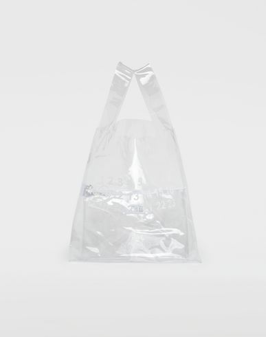 MAISON MARGIELA Tote [*** pickupInStoreShippingNotGuaranteed_info ***] PVC shopper tote f