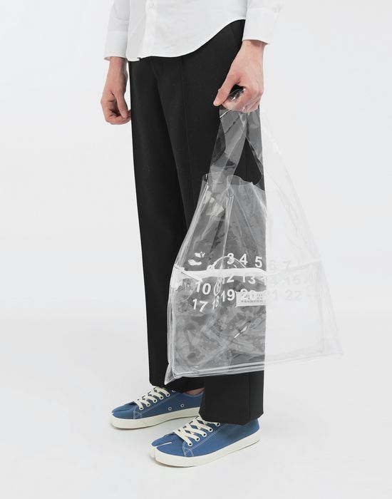 MAISON MARGIELA PVC shopper tote Tote [*** pickupInStoreShippingNotGuaranteed_info ***] b