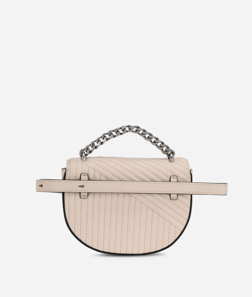 KARL LAGERFELD K/Signature Quilted Belt Bag Fanny pack Woman d