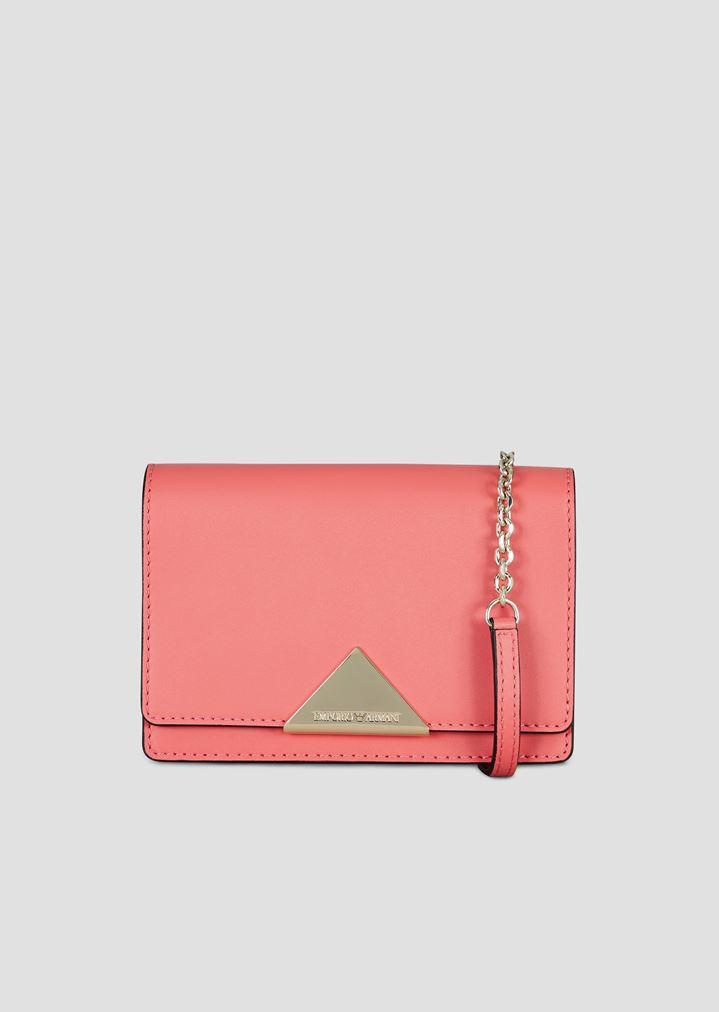 fce3c2d78841 Smooth leather mini crossbody bag