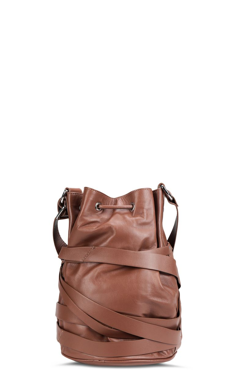 JUST CAVALLI Bucket bag with logo Crossbody Bag Woman e