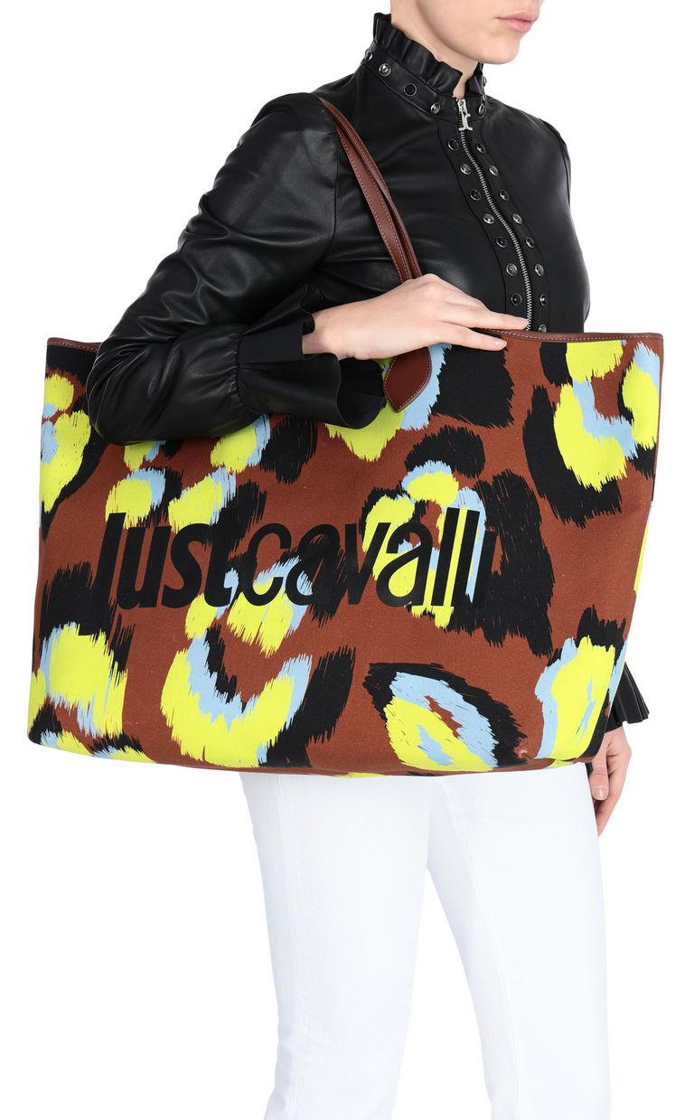 JUST CAVALLI Leopard-print shopper Tote Woman d
