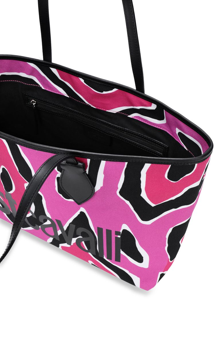 JUST CAVALLI Panther-print shopper Tote Woman a