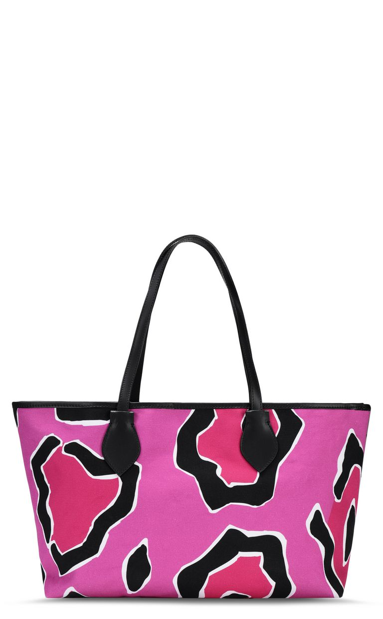 JUST CAVALLI Panther-print shopper Tote [*** pickupInStoreShipping_info ***] e