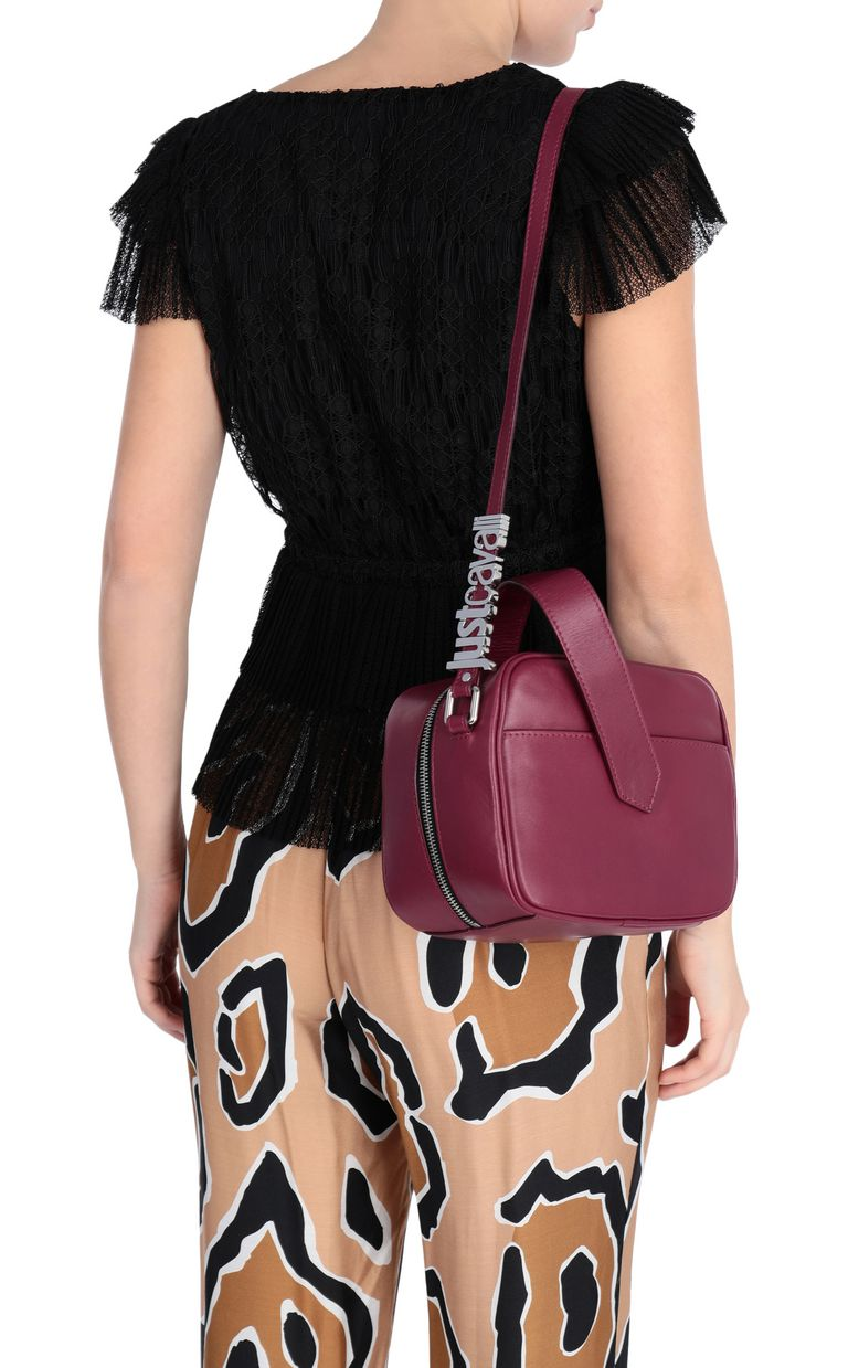JUST CAVALLI Cherry-red shoulder bag Crossbody Bag [*** pickupInStoreShipping_info ***] d