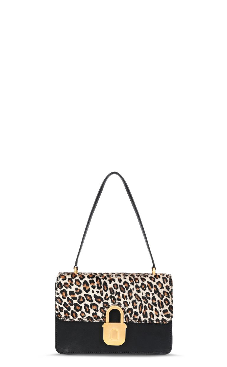 JUST CAVALLI Shoulder bag with padlock buckle Crossbody Bag [*** pickupInStoreShipping_info ***] f