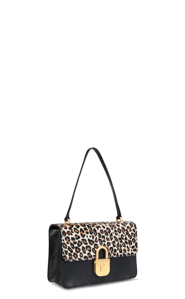 JUST CAVALLI Shoulder bag with padlock buckle Crossbody Bag [*** pickupInStoreShipping_info ***] r