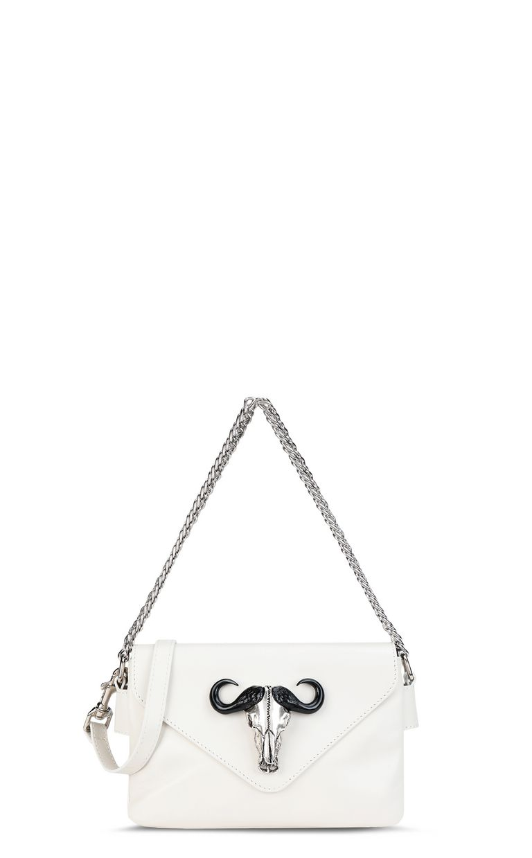 JUST CAVALLI Mini shoulder bag with chain Crossbody Bag Woman f