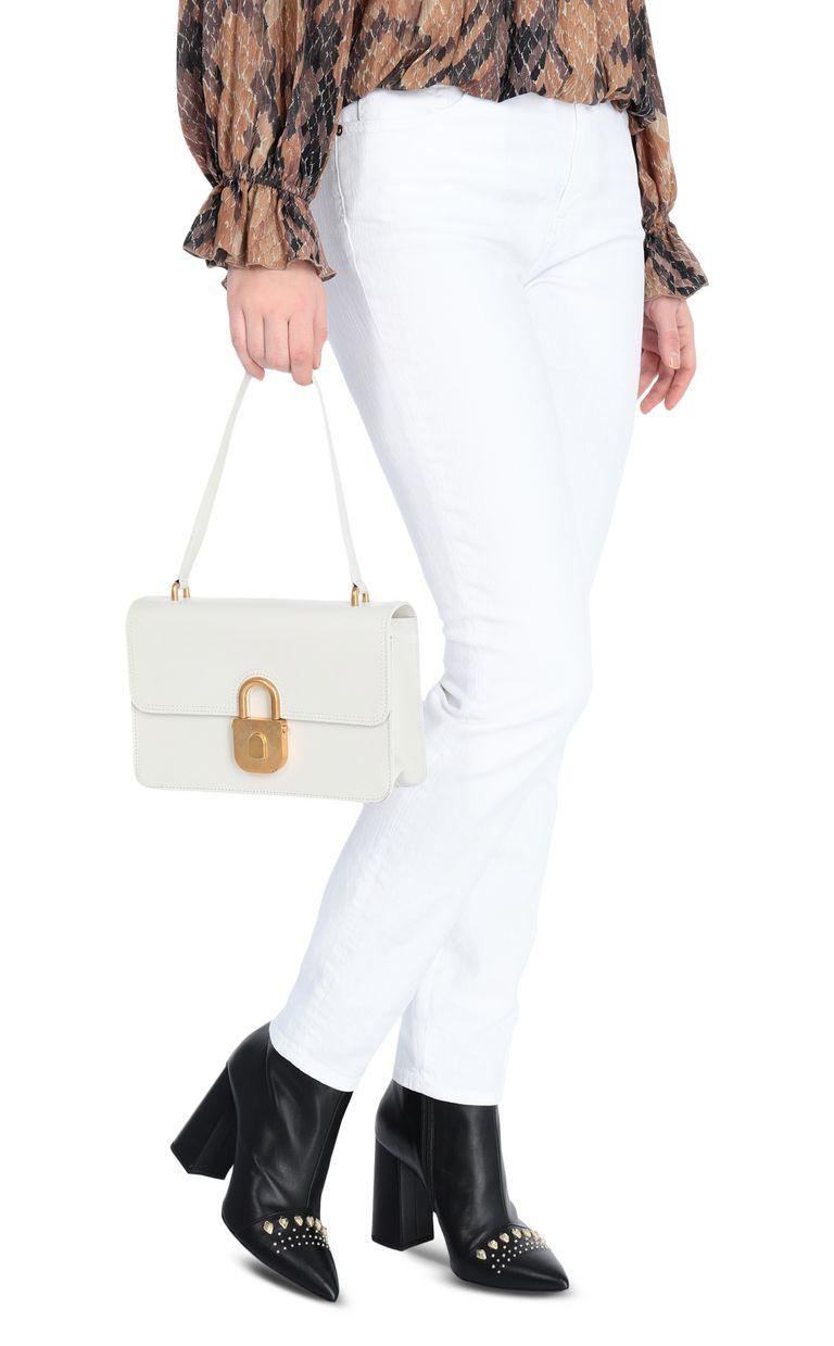JUST CAVALLI Shoulder bag with padlock buckle Crossbody Bag Woman d