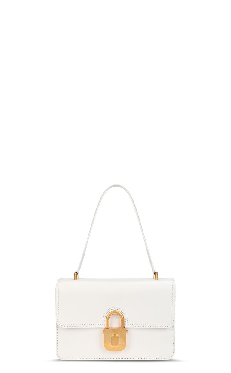 JUST CAVALLI Shoulder bag with padlock buckle Crossbody Bag Woman f