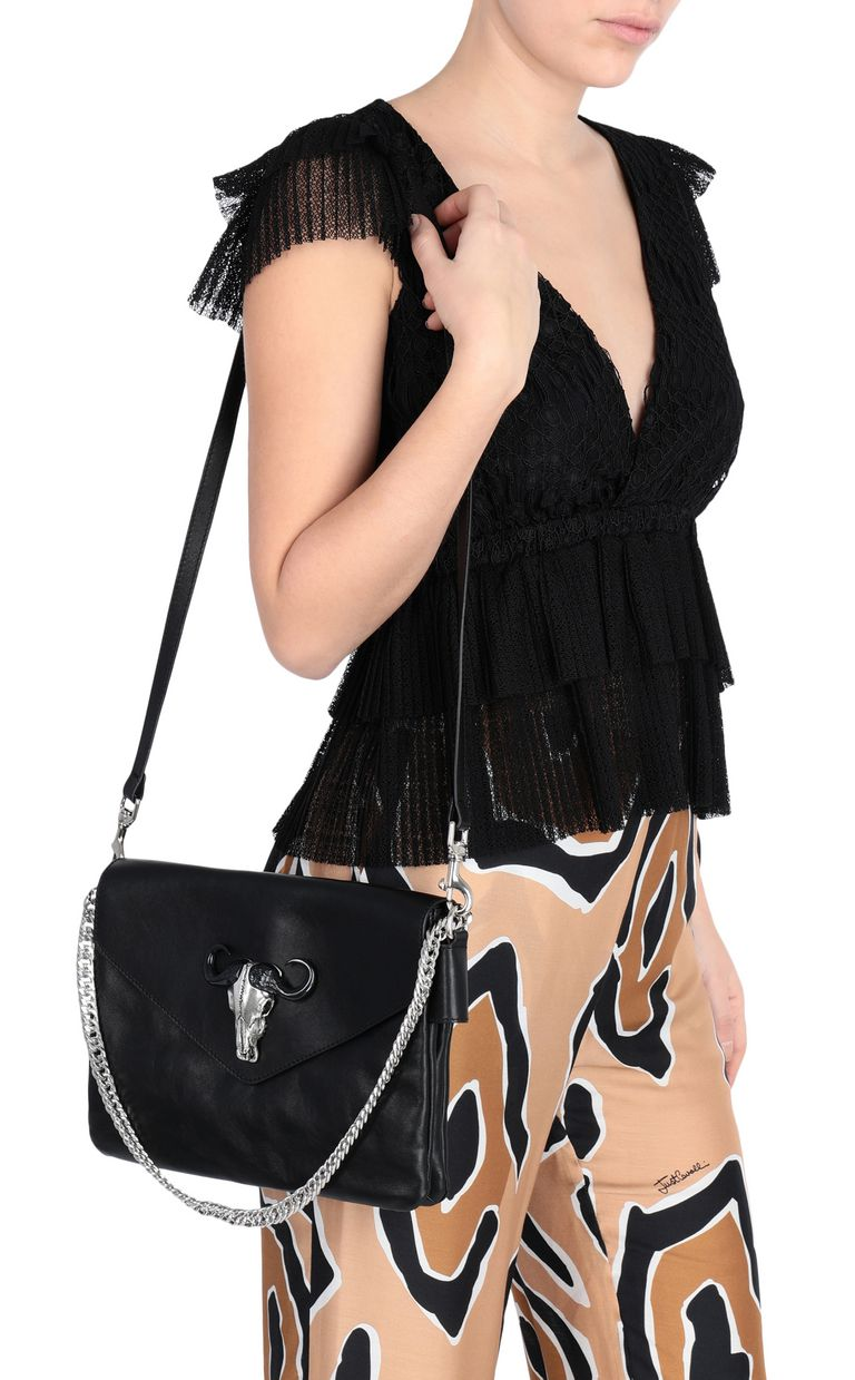JUST CAVALLI Shoulder bag with chain Crossbody Bag Woman d