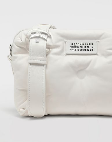 BAGS Glam Slam pouch bag White