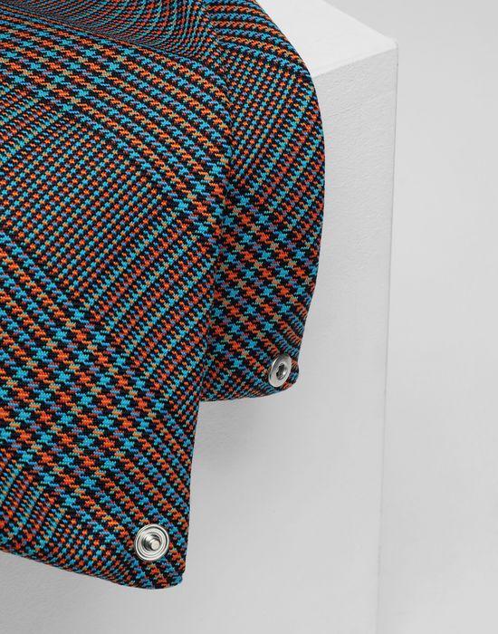 MM6 MAISON MARGIELA Japanese tartan wool medium bag Handbag [*** pickupInStoreShipping_info ***] e