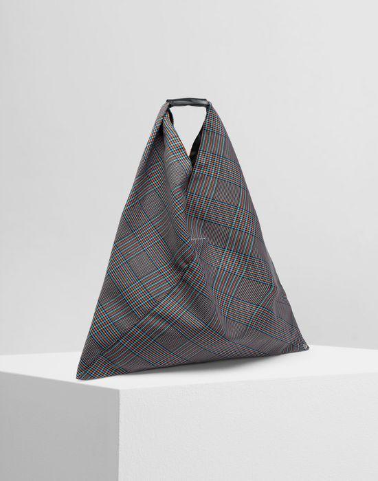 MM6 MAISON MARGIELA Japanese tartan wool medium bag Handbag [*** pickupInStoreShipping_info ***] r
