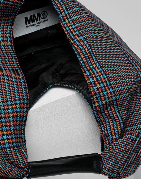 MM6 MAISON MARGIELA Japanese tartan wool medium bag Handbag Woman d