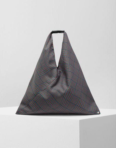 MM6 MAISON MARGIELA Japanese tartan wool medium bag Handbag Woman f