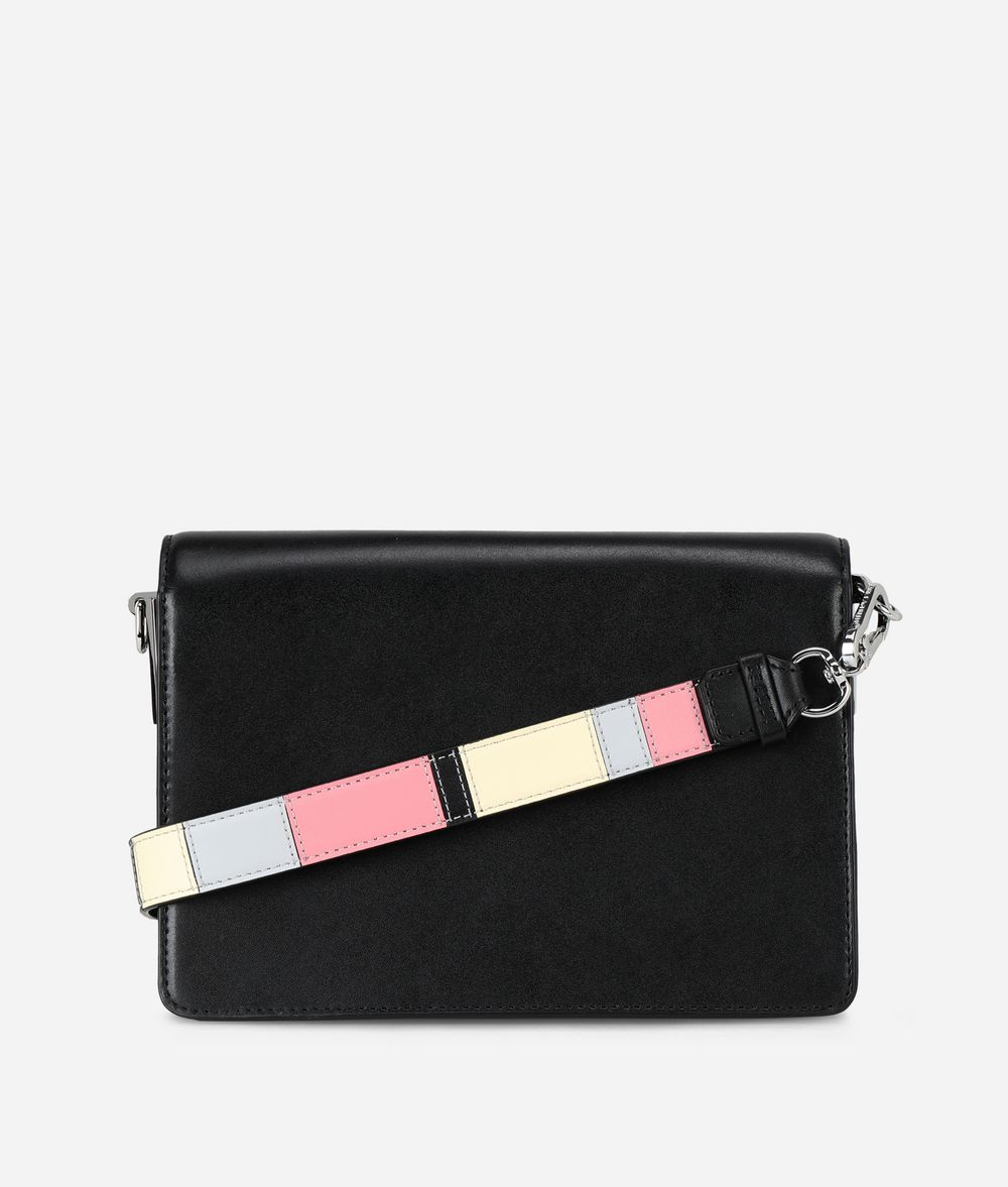 KARL LAGERFELD K/Signature Special Enamel Shoulder Bag Handbag Woman d