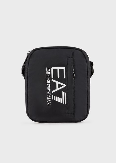Train Prime bag with shoulder strap in tech fabric with logo