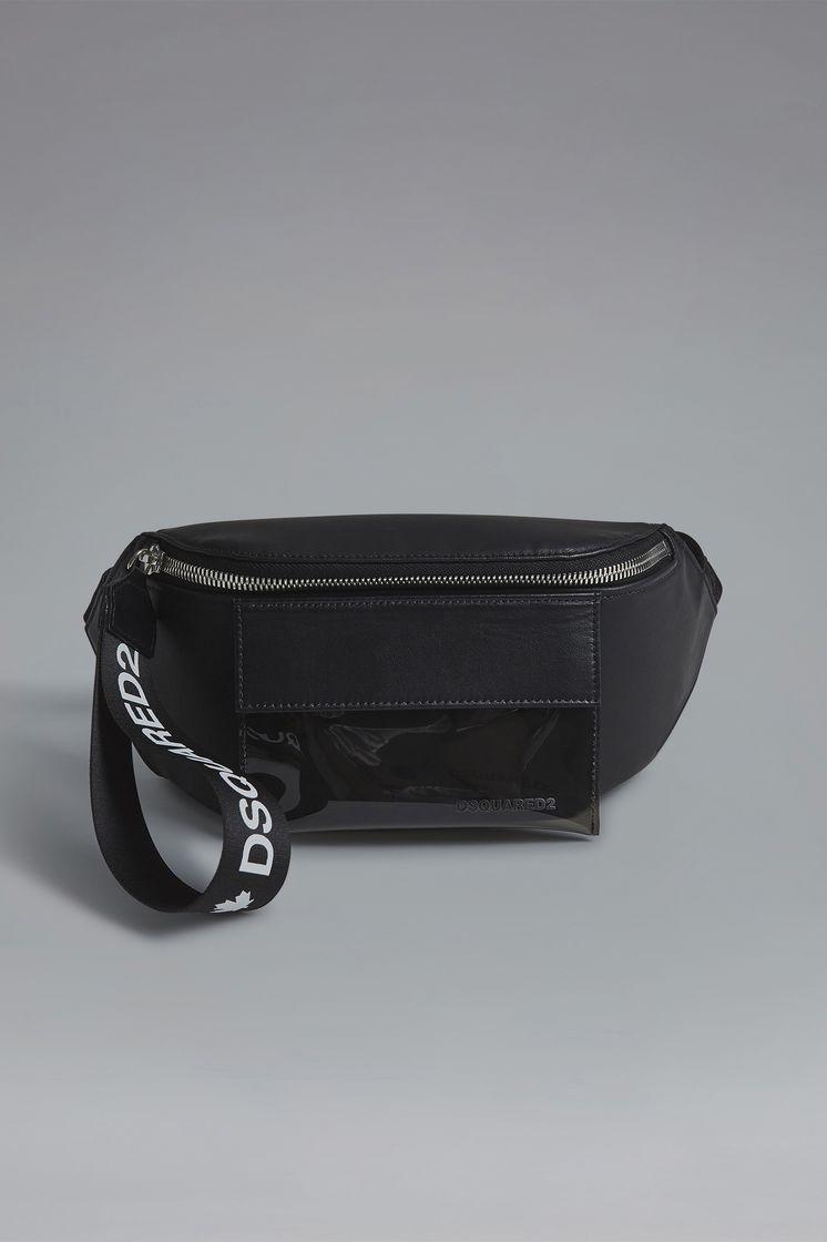 DSQUARED2 Red & Black Punk Bum Bag Сумка на пояс Для Мужчин