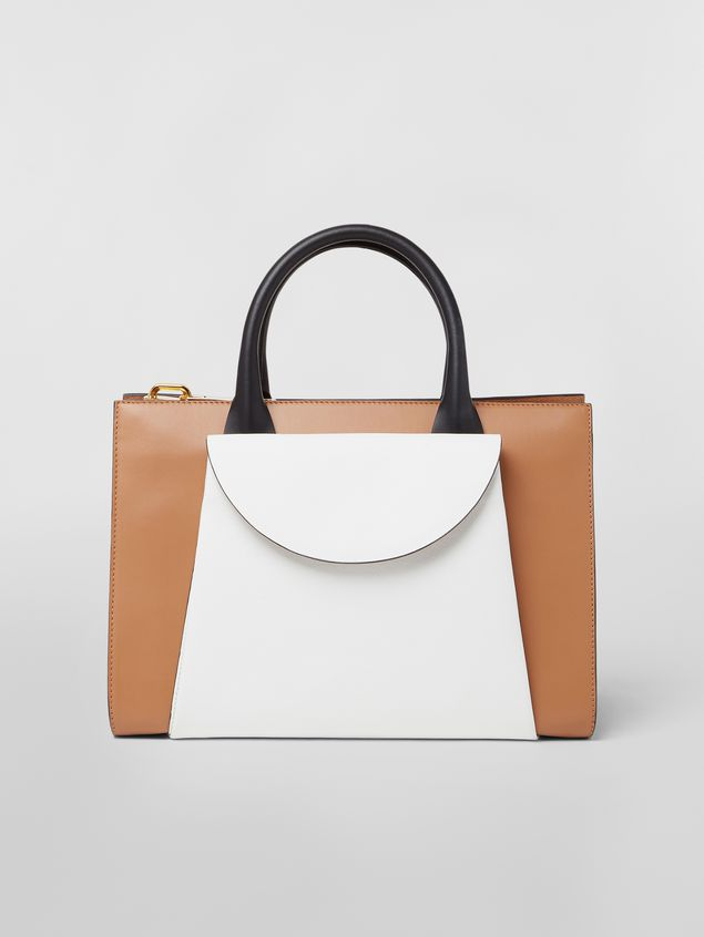 Marni Large LAW bag in leather Woman - 1