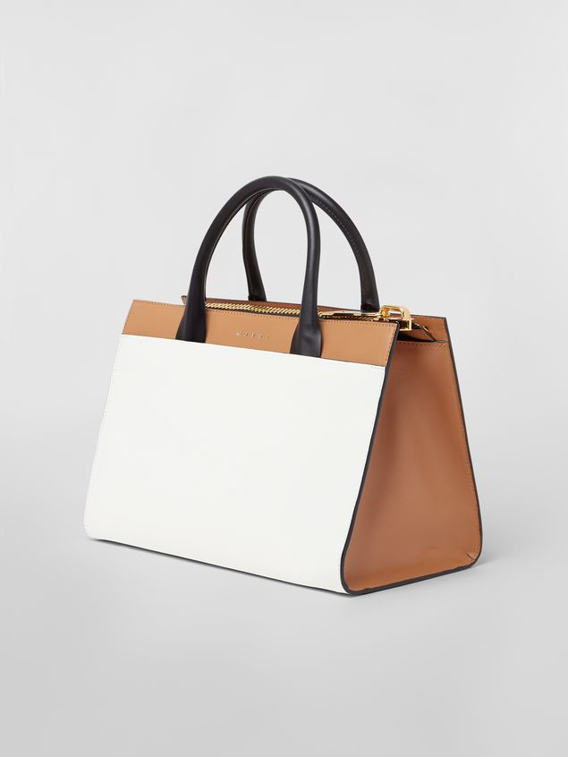 Marni Large LAW bag in leather Woman - 3