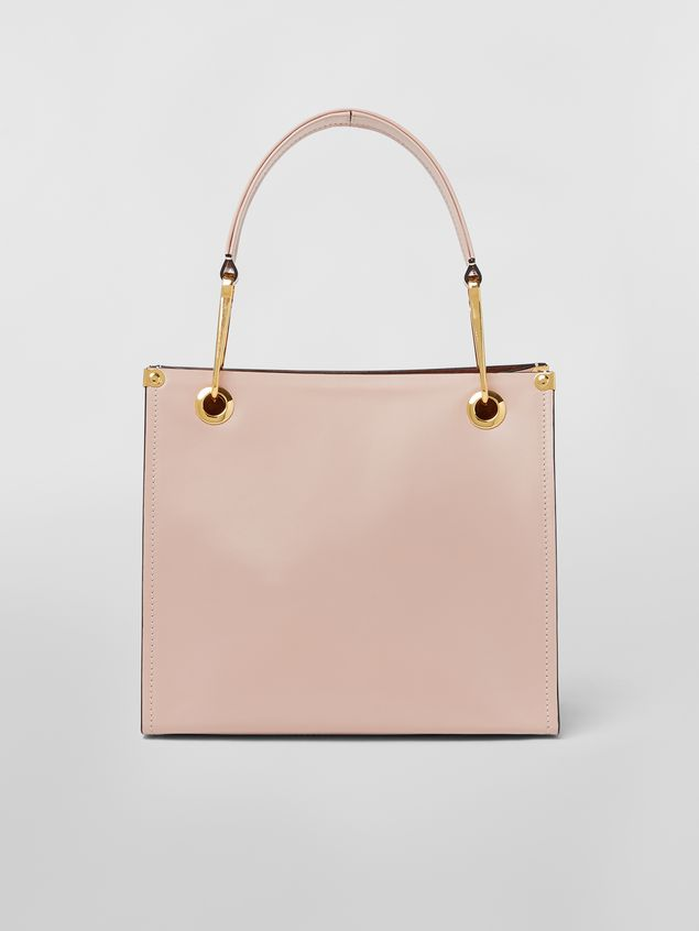 Marni Squared snap link GRIP bag in leather Woman - 1
