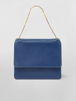 Marni Squared CACHE' bag in leather Woman