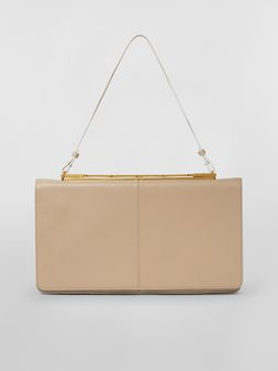 Marni CACHE' bag in leather with triple use function Woman