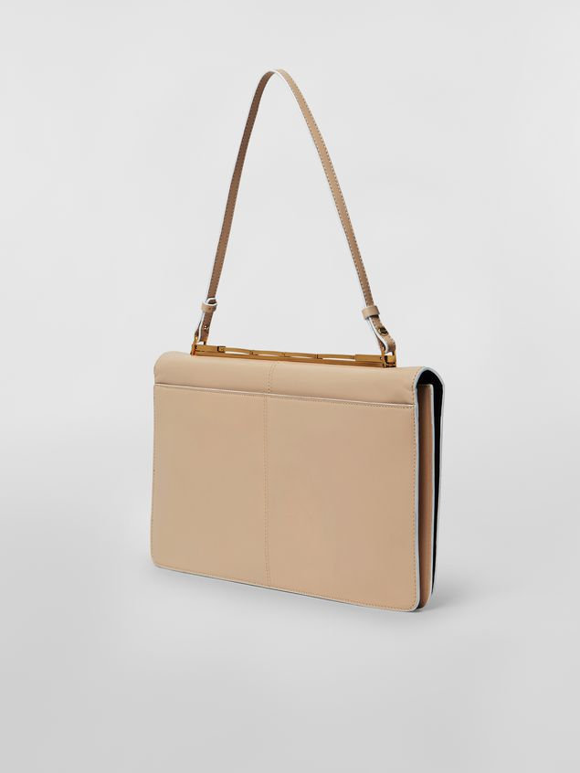 Marni CACHE' bag in leather with triple function of use Woman