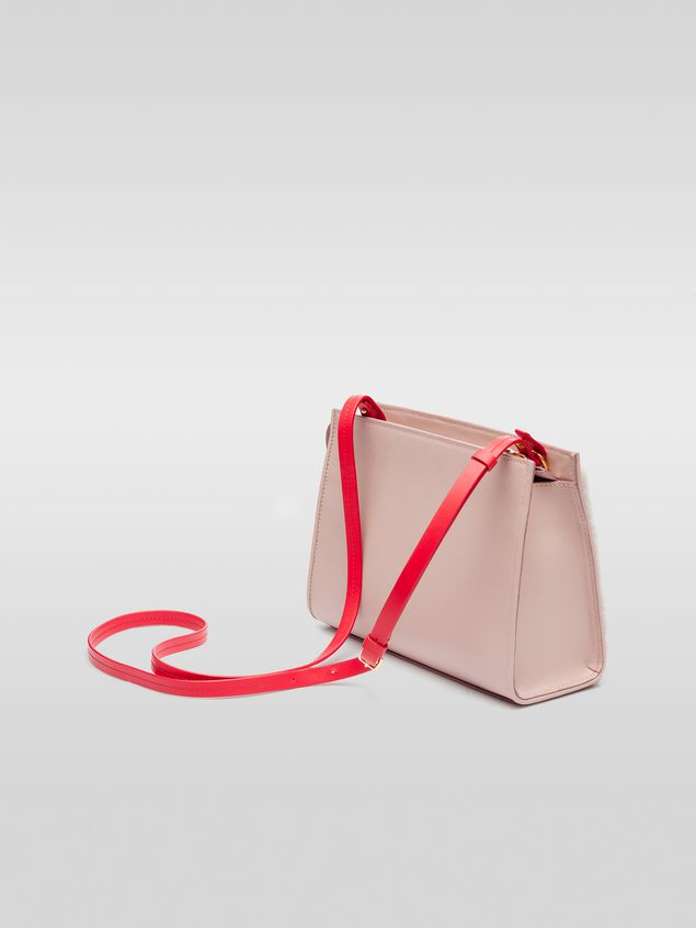 Marni LAW bag in leather and sheepskin Woman - 3