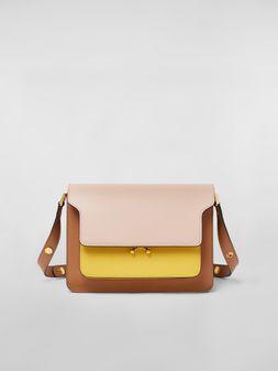 Marni TRUNK bag in three-colored calfskin Woman