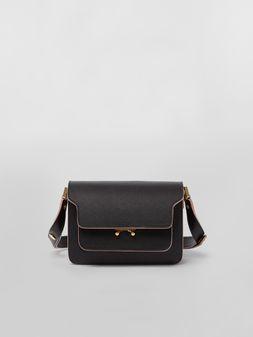 Marni Mini-bag TRUNK aus Saffiano-Leder  Damen