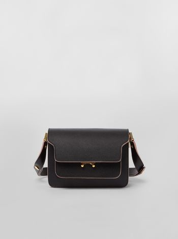 Marni TRUNK mini bag in saffiano leather  Woman