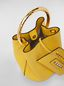 Marni PANNIER bag in leather with gold-tone metal handle Woman - 5