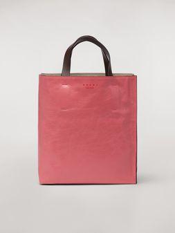 Marni Kleine Tasche MUSEO SOFT aus glänzendem Leder Damen