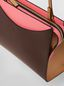 Marni LAW bag in leather pink and brown Woman - 4