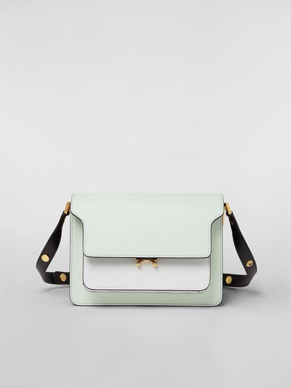 cc47717482ba TRUNK bag in saffiano calfskin in green