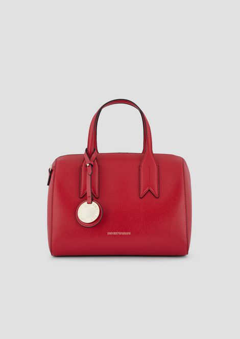 Bauletto bag with logo charm