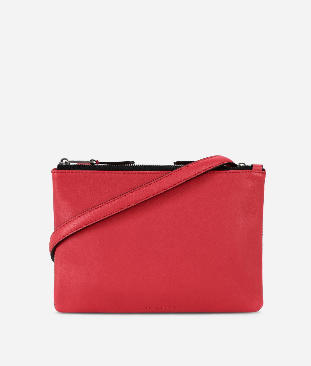 KARL LAGERFELD K/Jacquard Flat Crossbody Crossbody Bag Woman d