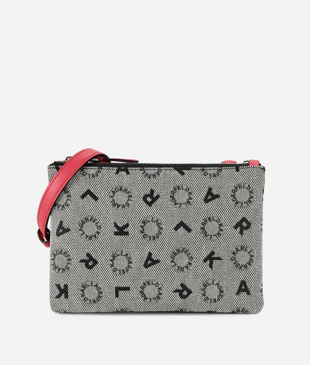 KARL LAGERFELD K/Jacquard Flat Crossbody Crossbody Bag Woman f