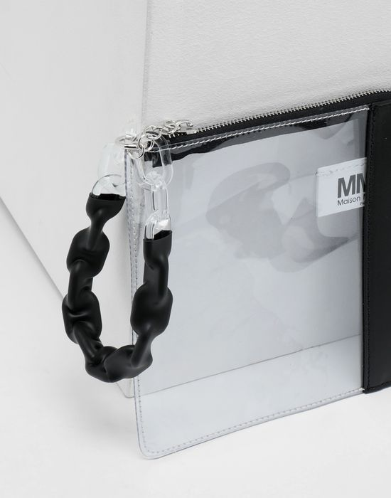 MM6 MAISON MARGIELA Half-And-Half pochette Clutch [*** pickupInStoreShipping_info ***] d