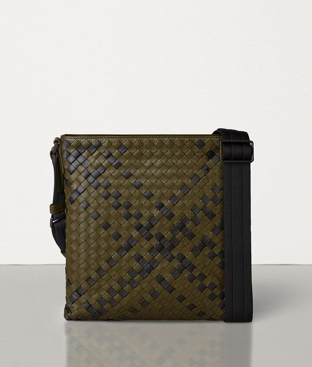 BOTTEGA VENETA MESSENGER IN INTRECCIATO NAPPA Messenger Bag Man fp