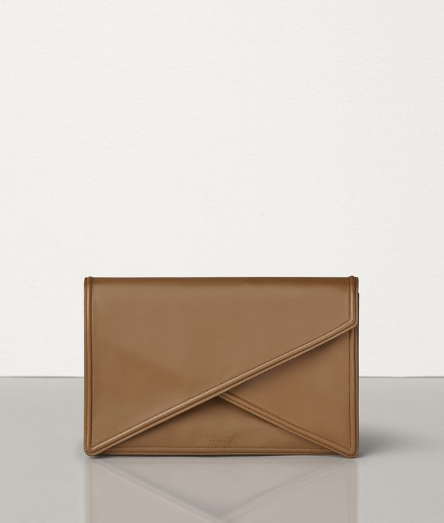BOTTEGA VENETA BV CLUTCH IN MATTE CALF LEATHER Clutch Woman fp