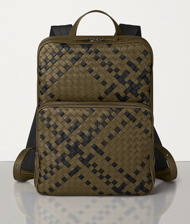 BOTTEGA VENETA DOUBLE BRICK BACKPACK IN INTRECCIATO NAPPA Backpack Man fp
