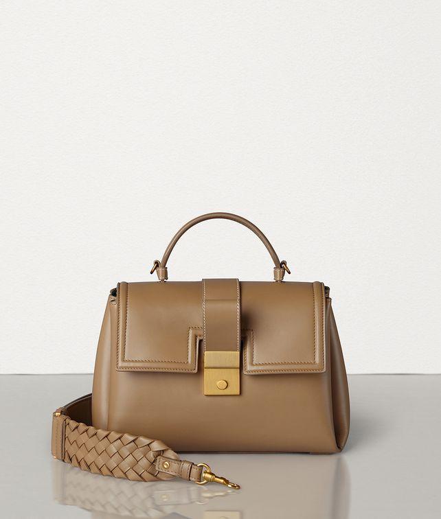 BOTTEGA VENETA SMALL PIAZZA BAG IN MATTE CALF Top Handle Bag Woman fp