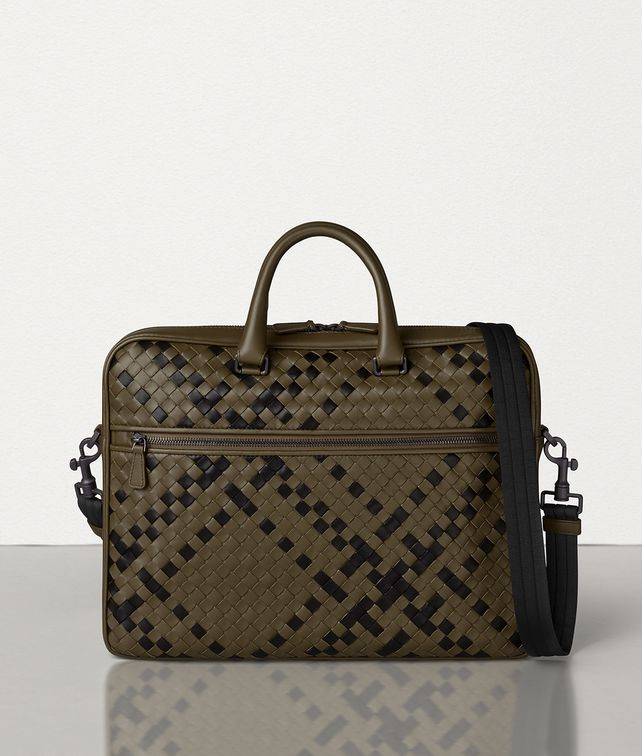 BOTTEGA VENETA BRIEFCASE IN INTRECCIATO NAPPA Business bag [*** pickupInStoreShippingNotGuaranteed_info ***] fp
