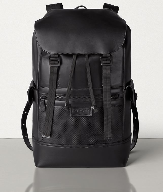 BOTTEGA VENETA SASSOLUNGO BACKPACK IN LEGGERO Backpack Man fp