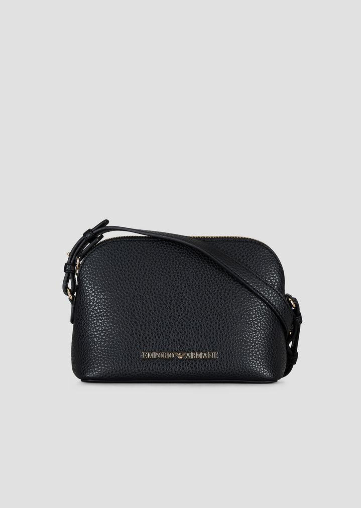 22d45947b7e4 Mini cross-body bag with Emporio Armani logo
